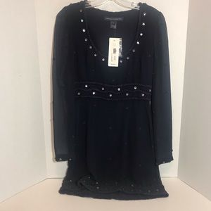 French Connection NWT Delicate Navy Dress size 6